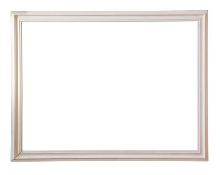 Modern white picture frame Stock Photo - 6551350