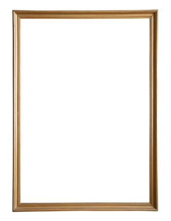 gold picture frame Stock Photo - 6551360