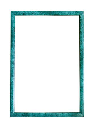 outage: Modern thin green picture frame