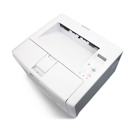 Top view of Laser office printer Stock Photo - 6753307