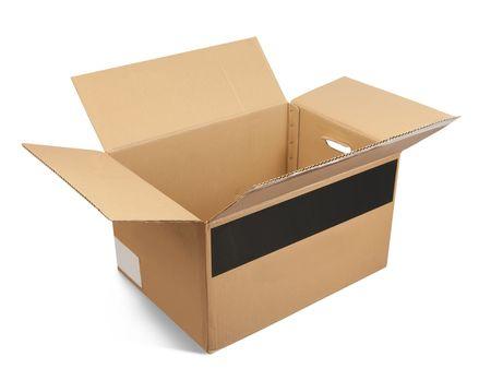 Cardboard box Stock Photo - 6784314