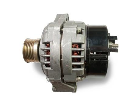 alternator: automotive power generating alternator