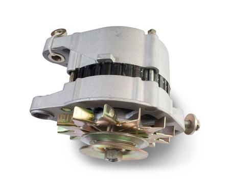 alternator: alternator.  Stock Photo