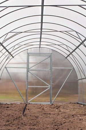 forcing bed: green house