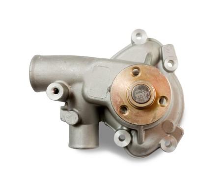 bomba de agua: bomba de agua. Aislados en blanco