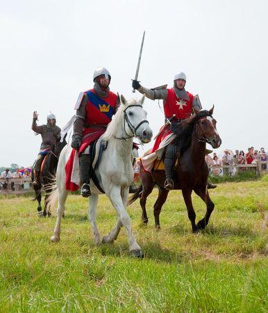 SUZDAL, RUSSIA - JULY 10: knight festival