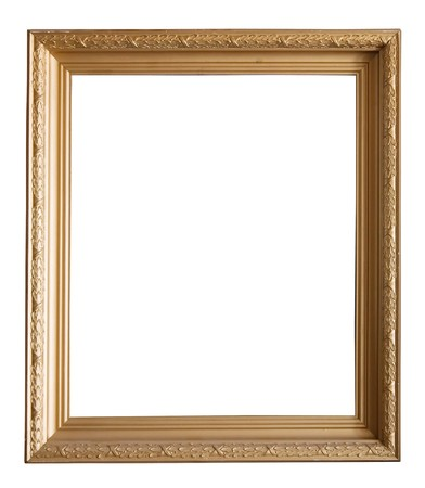 classic frame: gold picture frame