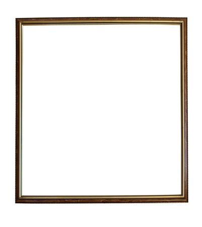 Modern thin picture frame photo