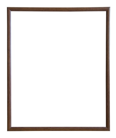 outage:  thin brown picture frame