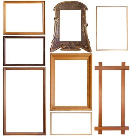 skinny: Conjunto de marcos de madera foto 9