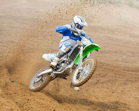 mx: VLADIMIR, RUSSIA - AUGUST 8: Team IMBA Cup of Nations (motocross) in Vladimir, August, 8, 2010 in Vladimir, Russia.