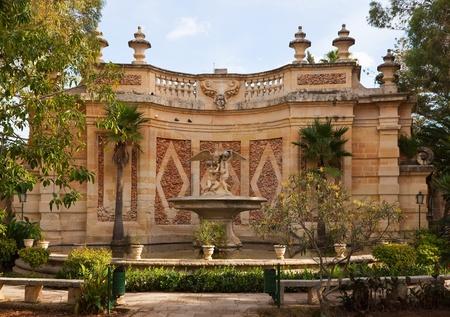 anton: garden sculpture at San Anton Garden, Malta