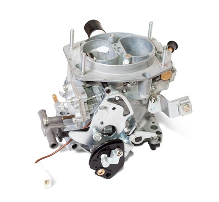 New carburetor. Isolated on white background  with clipping path Stock Photo - 8769390