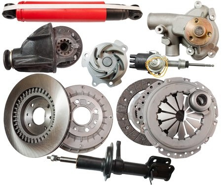 Set of automobile  parts. Stock Photo - 8770017