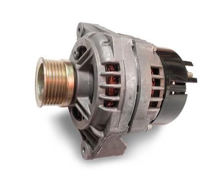 alternator: automotive alternator