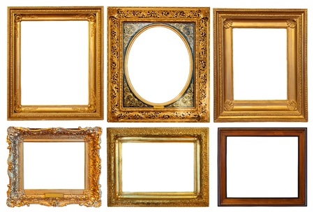 antique frame: Set of few  picture frames