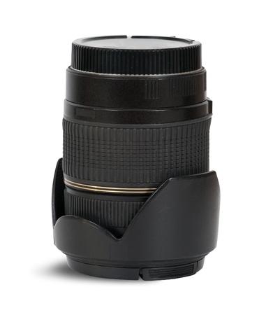 Photo lens. isolated on white photo