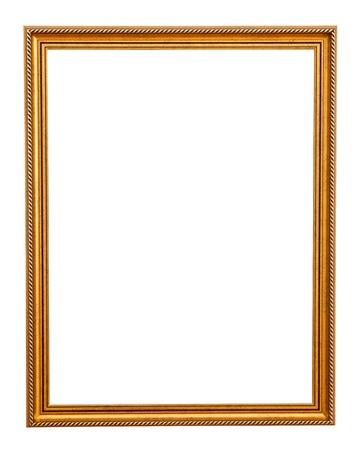 Klassisches gold Rahmen