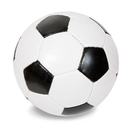 leather ball: bal�n de f�tbol cl�sico