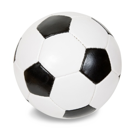 recreational sport: classic soccer ball Stock Photo
