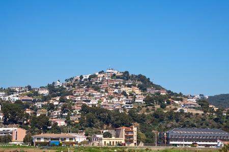 costa brava: Vue de Calella. Costa Brava, Espagne