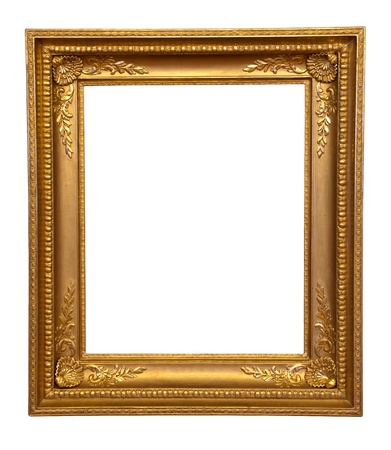 old antique gold frame Stock Photo - 9676120