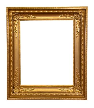 gild: old antique gold frame Stock Photo