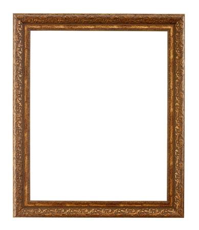 old bronze frame.  photo