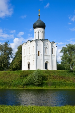12th century: Church of the Intercession on the River Nerl built in the 12th century (Russia)