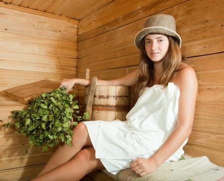 фото русские девушки в бане