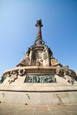 Monument of Columbus in Barcelona. Spain Stock Photo - 10643051