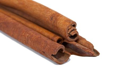 'cinnamon bark': cinnamon bark. Isolated on white background