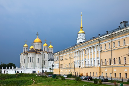 assumption: Assumption cathedral  at Vladimir in summer. Russia
