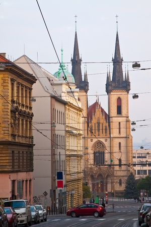 Street in Old Town. Prague, Czechia Stock Photo - 11636060