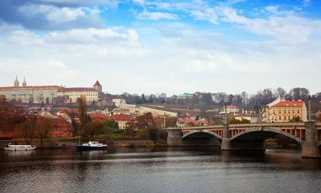 Day view of Prague. Czech Republic Stock Photo - 11636552