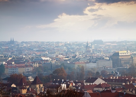 Day view of Prague. Czech Republic Stock Photo - 11805497
