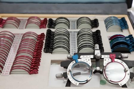 diopter: Lente de Medicina juicio maleta de transporte con lentes