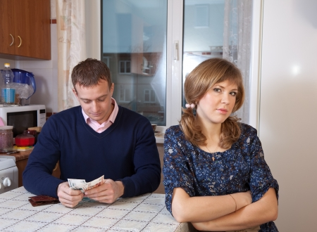 parsimony: Quarrel in the family due to lack of money