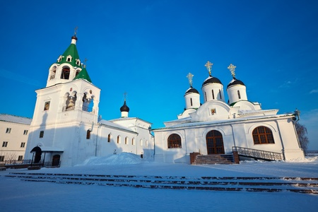 Holy Transfiguration Monastery at Murom in winter. Russia Stock Photo - 12288751