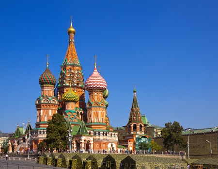 Intercession Cathedral at Red Square. Moscow, Russia