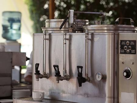 cocinas industriales: m�quina de caf� y caf� Outdor