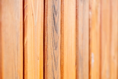 Wood panel background. Shallow DOF Stock Photo - 12436990