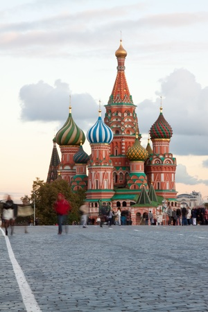 red square moscow: Intercesi�n Catedral en la Plaza Roja. Mosc�, Rusia