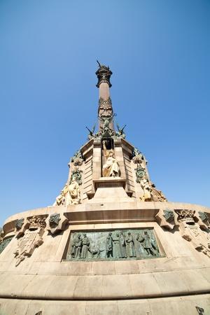Statue of Christopher Columbus, Barcelona  Spain Stock Photo - 12791231
