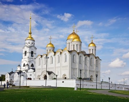 assumption: Assumption cathedral  at Vladimir in summer (Russia)