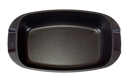 panful: cooking pan. Isolated over white background Stock Photo