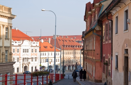 Street in Old Town - Hradcany. Prague, Czechia Stock Photo - 13715588