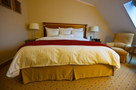 br: interior of bedroom with  double bed