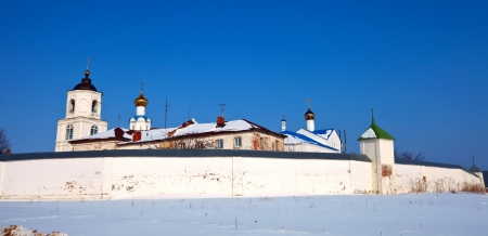 vasiliev: Vasiliev monastery at Suzdal in winter  Russia