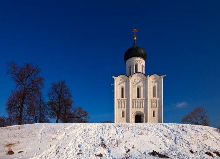 Church of the Intercession on the River Nerl  Inscribed in the Wold Heritage List of UNESCO photo